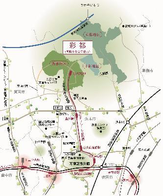 彩都(国際文化公園都市)の概要/茨木市